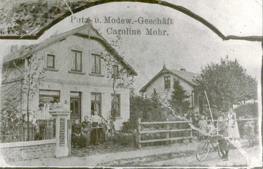Das Firmengebäude um 1895
